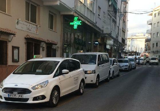 taxis en Nerja